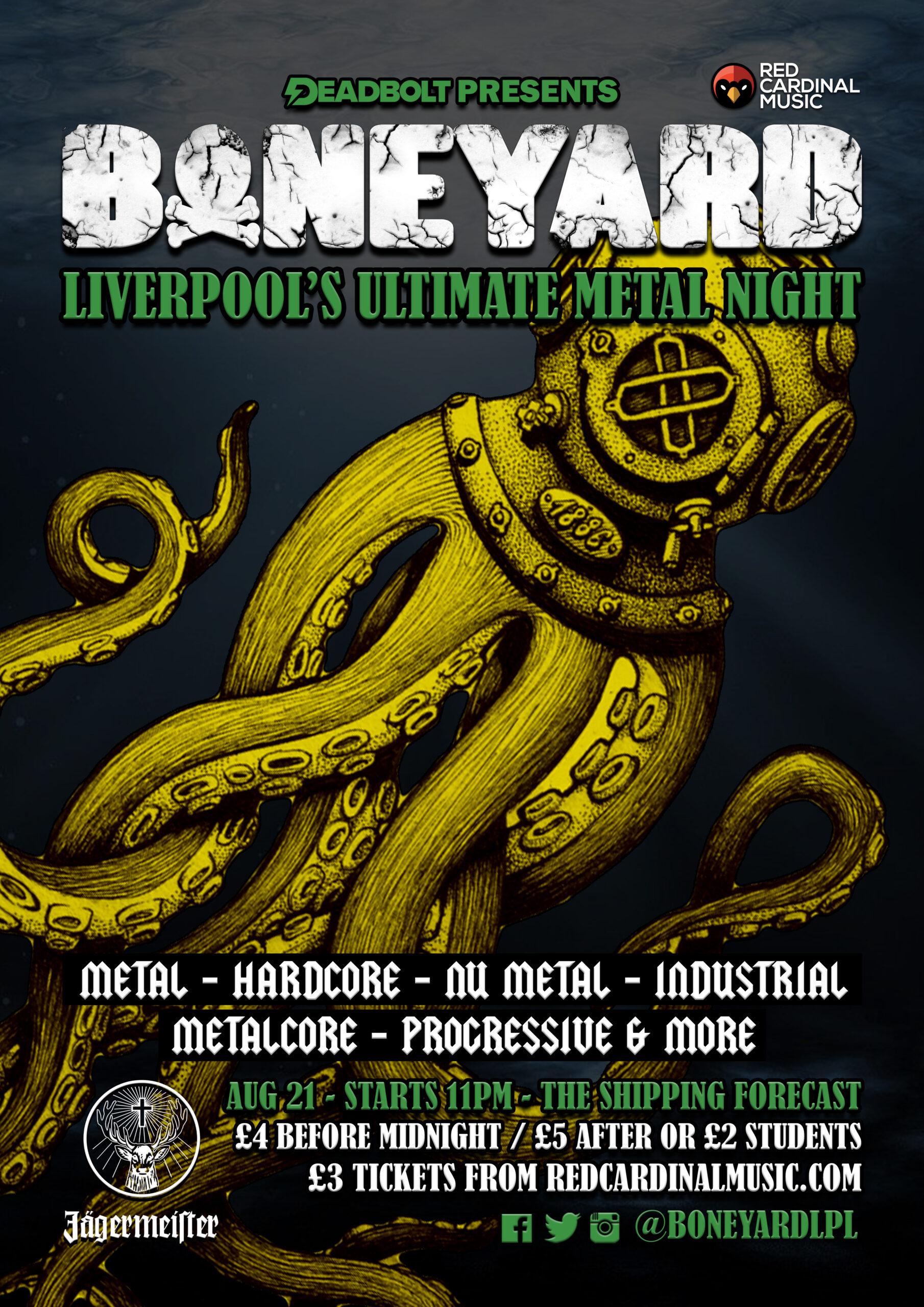 Boneyard - Shipping Forecast Liverpool - Aug 21 - Poster - RGB Web